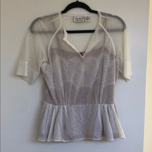Byron Lars Tops - Anthropologie Byron Lars Peplum Top